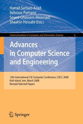 Advances in Computer Science and Engineering By Sarbazi-azad, Hamid (EDT)/ Parhami, Behrooz (EDT)/ Miremadi, Seyed-ghasem (EDT)/ Hessabi, Shaahin (EDT)